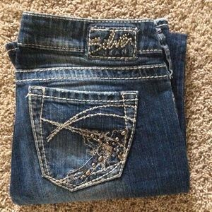 Silver Tuesday Bootcut Jeans, Sz 27/31